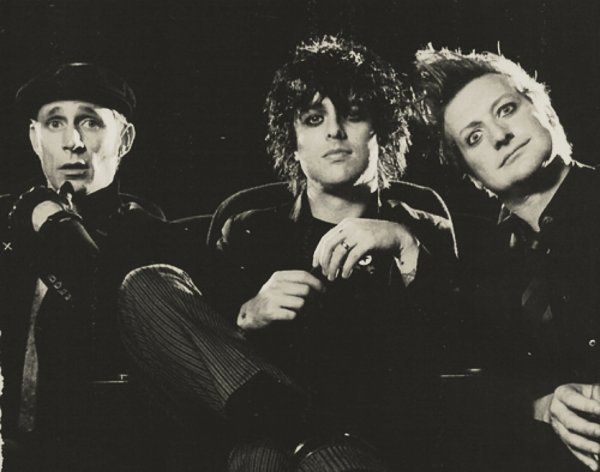 Mike Dirnt, Billie Joe, & Tre Cool