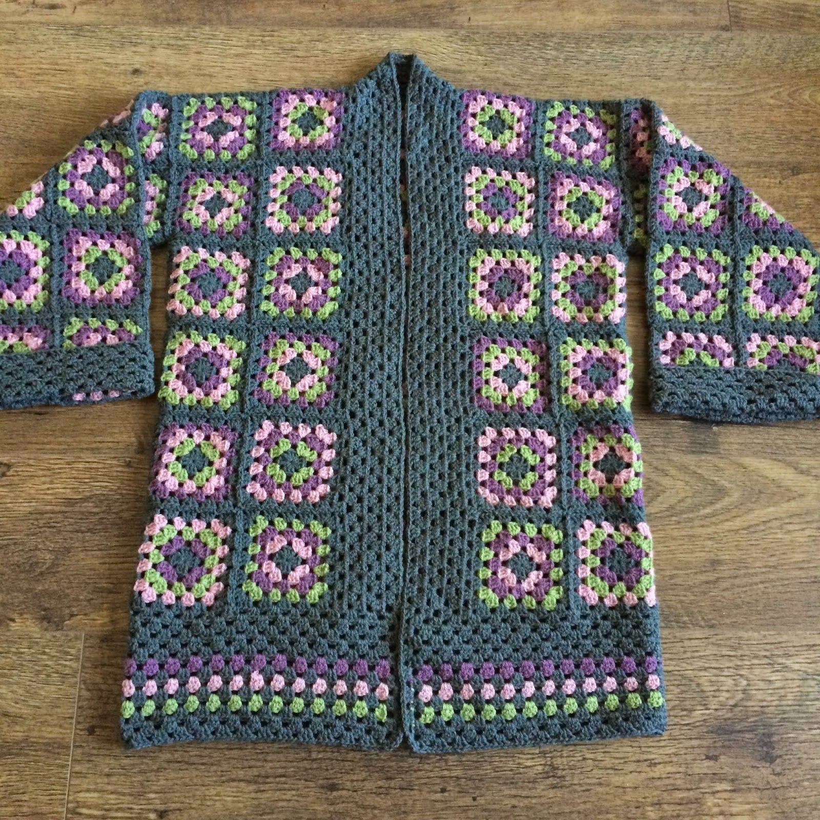 granny square jacket - Pesquisa Google | Örgü modelleri | Pinterest ...
