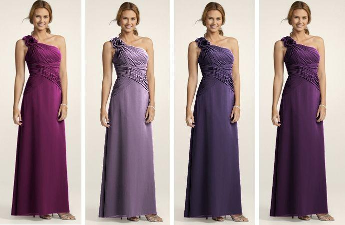 David's Bridal Bridesmaid Dresses: Item #F14010 In Colours