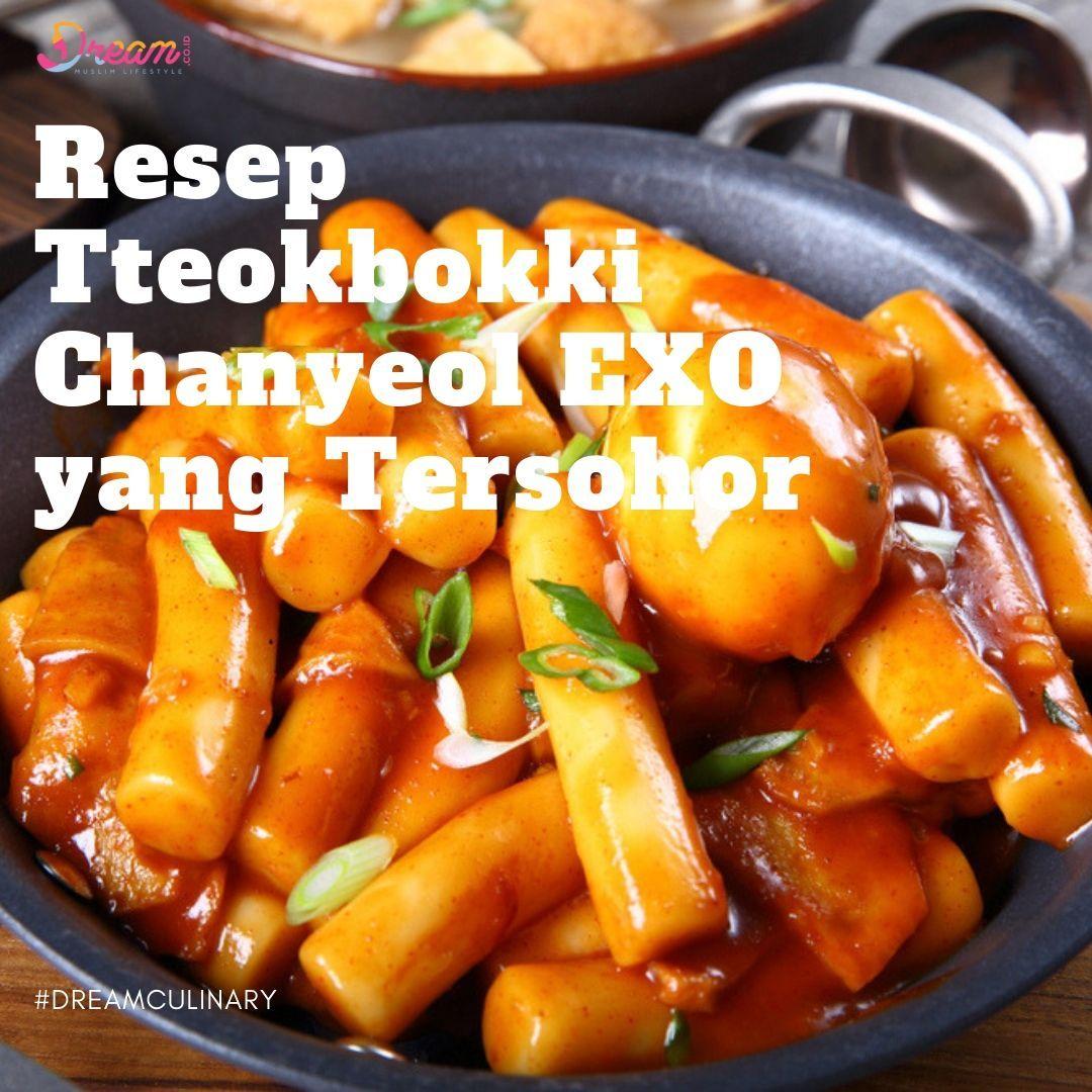 Resep Tteokbokki Chanyeol Exo Yang Tersohor Resep Masakan Korea Resep Makanan Korea Resep Makanan Asia