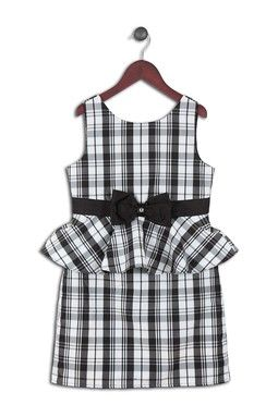 Mallory Taffeta Plaid Dress (Little Girls