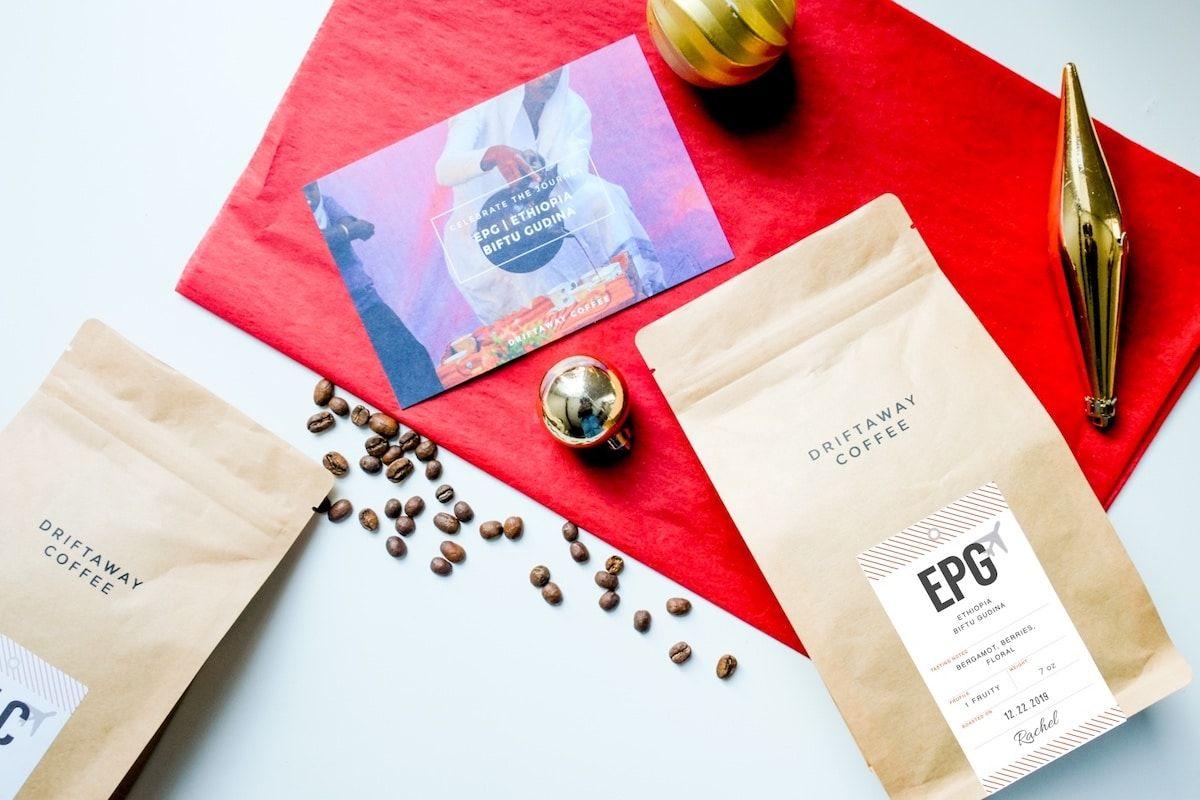 Driftaway Coffee Subscription gifts, Black coffee