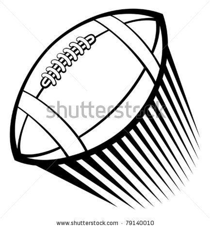 Rugby American Football Ball Stock Vector 79140010 Shutterstock Wallpaper