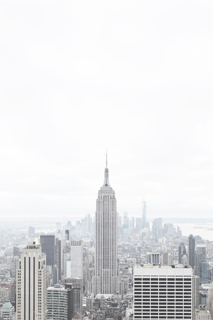 Manhattan Ny Photo By Matthijs Kok White Aesthetic Black And White Picture Wall Aesthetic Wallpapers
