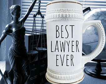 FUNNY LAWYER GIFT For Lawyer Gift Man Beer Mug Stein Dad Birthday Law School Quotes