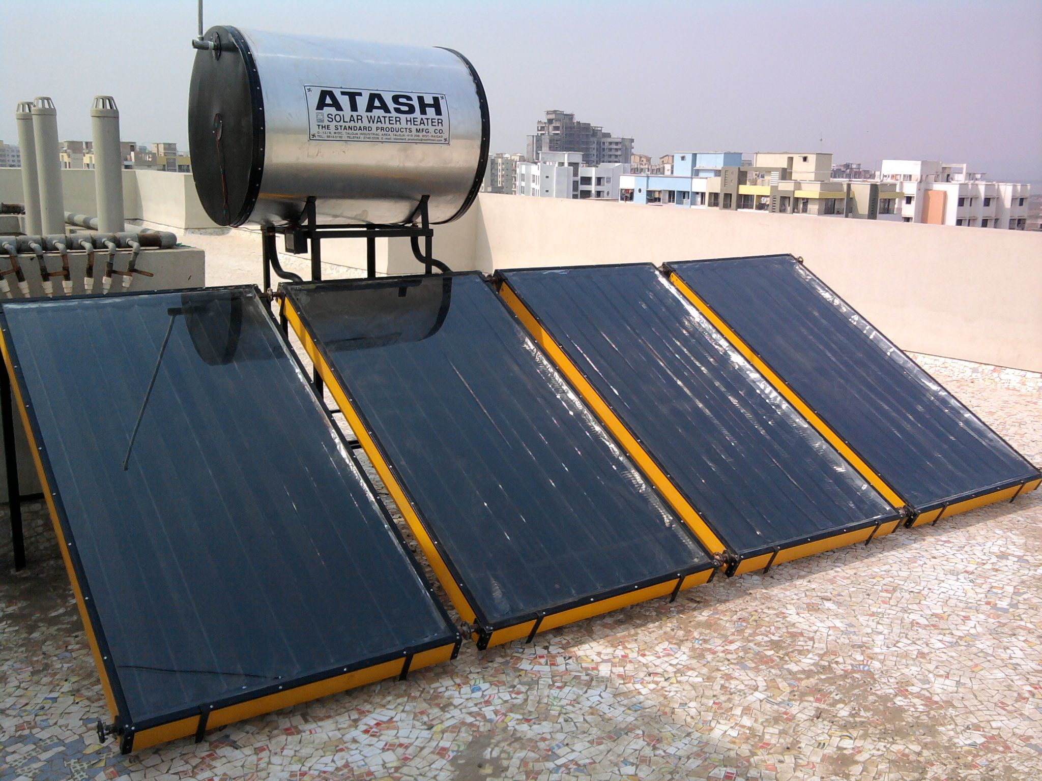 Solar Water Heating | Solar Water Heaters, Flat Plate Solar