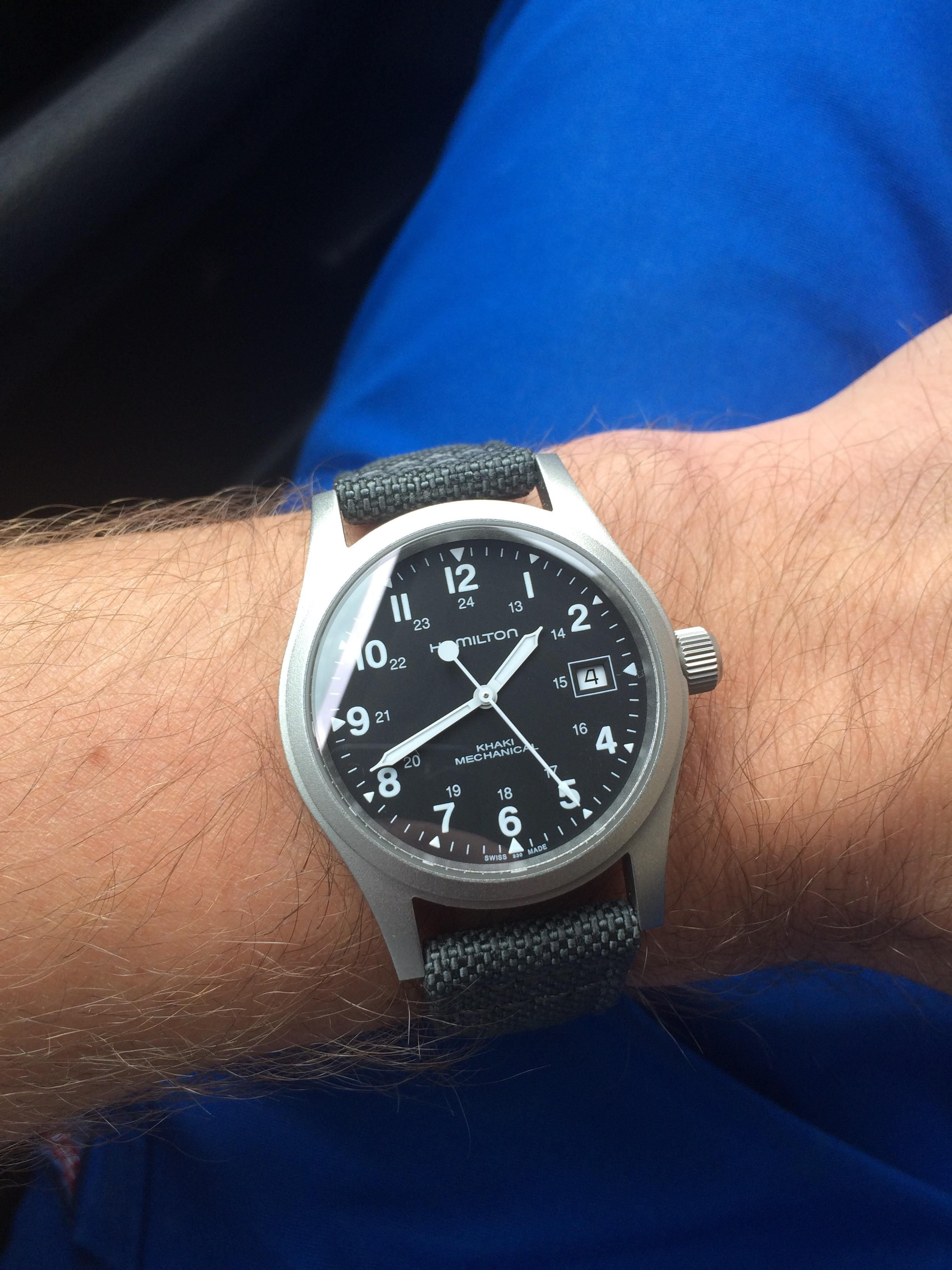 Hamilton Khaki Mechanical Watches In 2019 Rolex Watches