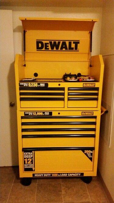 Dewalt Tool Chest J M Dewalt Tools Garage Tools Dewalt