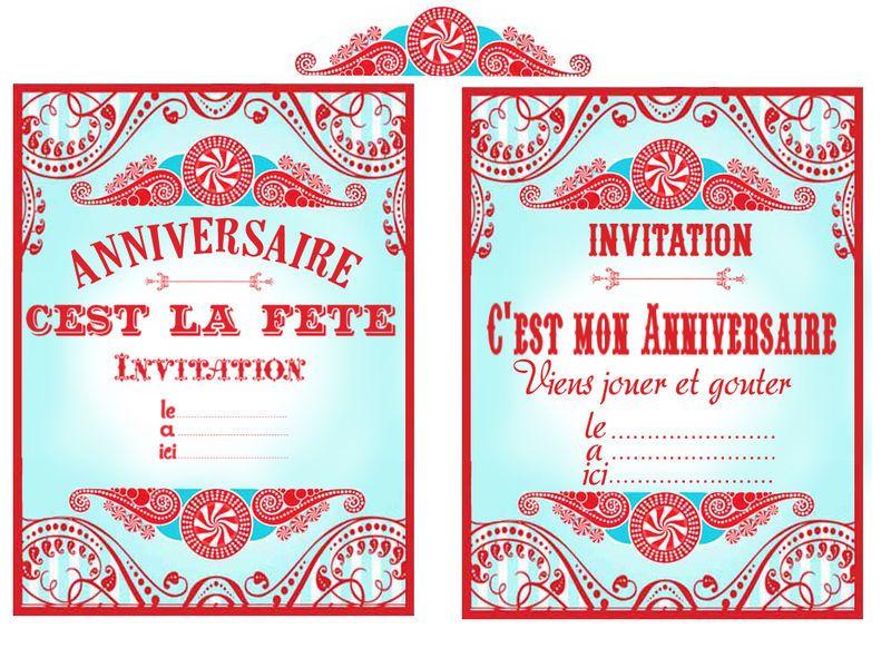 Invitations Invitations Deco Fete Foraine Invitation Fete Et