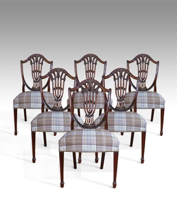 Hepplewhite Dining Chairs
