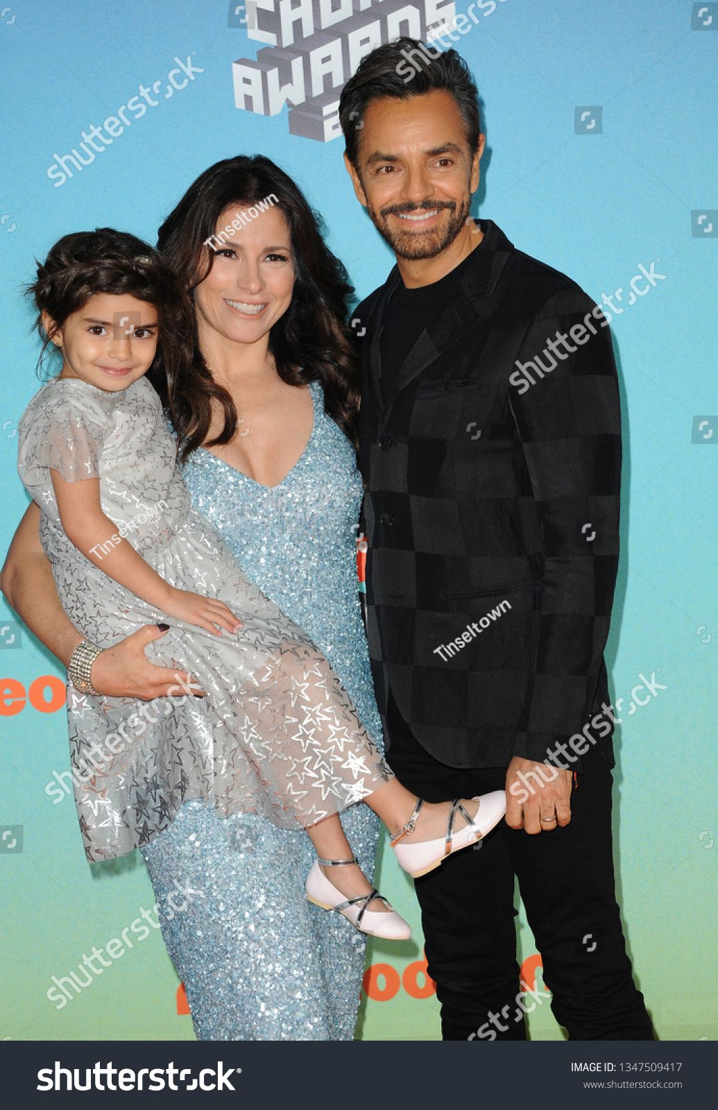 Alessandra Rosaldo And Eugenio Derbez At The Nickelodeon S 2019 Kids Choice Awards Held At The Galen Center In Los An Kids Choice Award Nickelodeon Alessandra