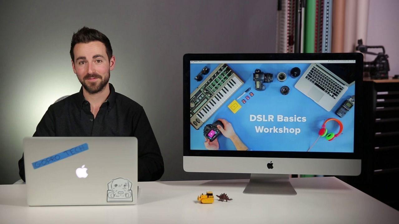 Wistia - DSLR Basics Workshop