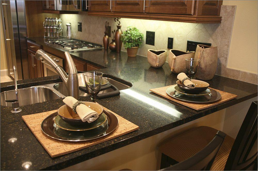 black granite kitchen designs | bedroom and living room image
