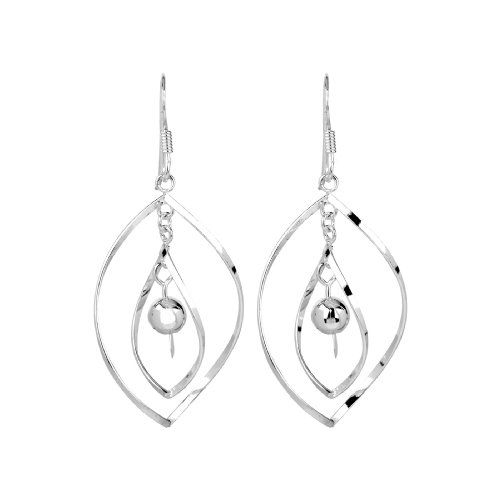 #Sterling Silver Multi-Circle Link Dangle #Earrings       http://amzn.to/Ha6aRB       Nice, but will bend VERY easy....