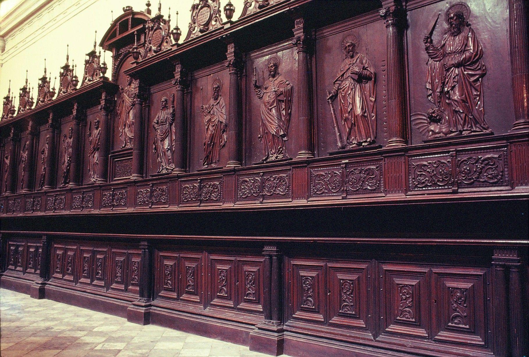 La Catedral Cajonería De La Sacristía Universidad Católica Sedes Sapientiae Landmarks Building Louvre