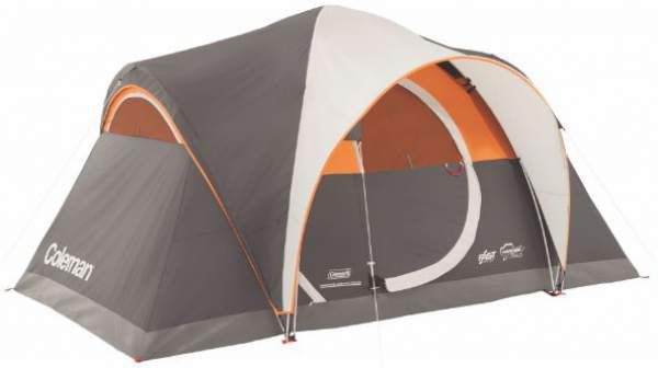 Coleman Yarborough Pass 6 Tent Family Tent Camping 6