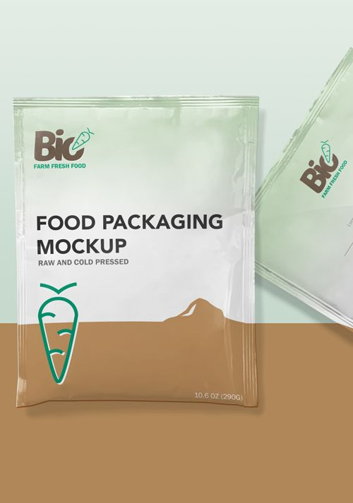 free foil sachet mockup pinterest mock up product mockup and