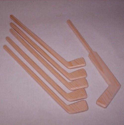 1 Pc Wooden Baseball Bat Handcraft DIY Supplies Children Mini Size Accessories