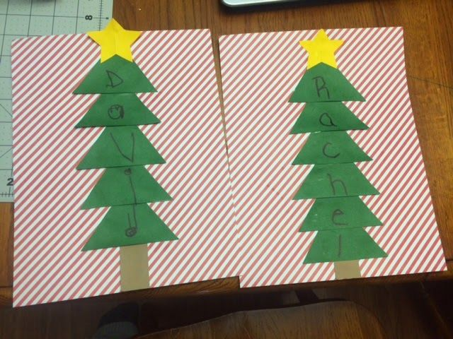 Working Mom Wonders Name Christmas Tree Christmas Crafts Christmas Activities Christmas Tree