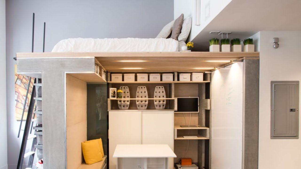 Small Studio Loft Apartment Design 28 Ideas Beautiful And Modern Lofts Studio Apartment Design Small Apartment Design Tiny Studio Apartments