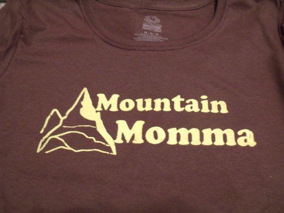 Mountain Momma West Virginia tee by danyellamichella on Etsy, $16.00