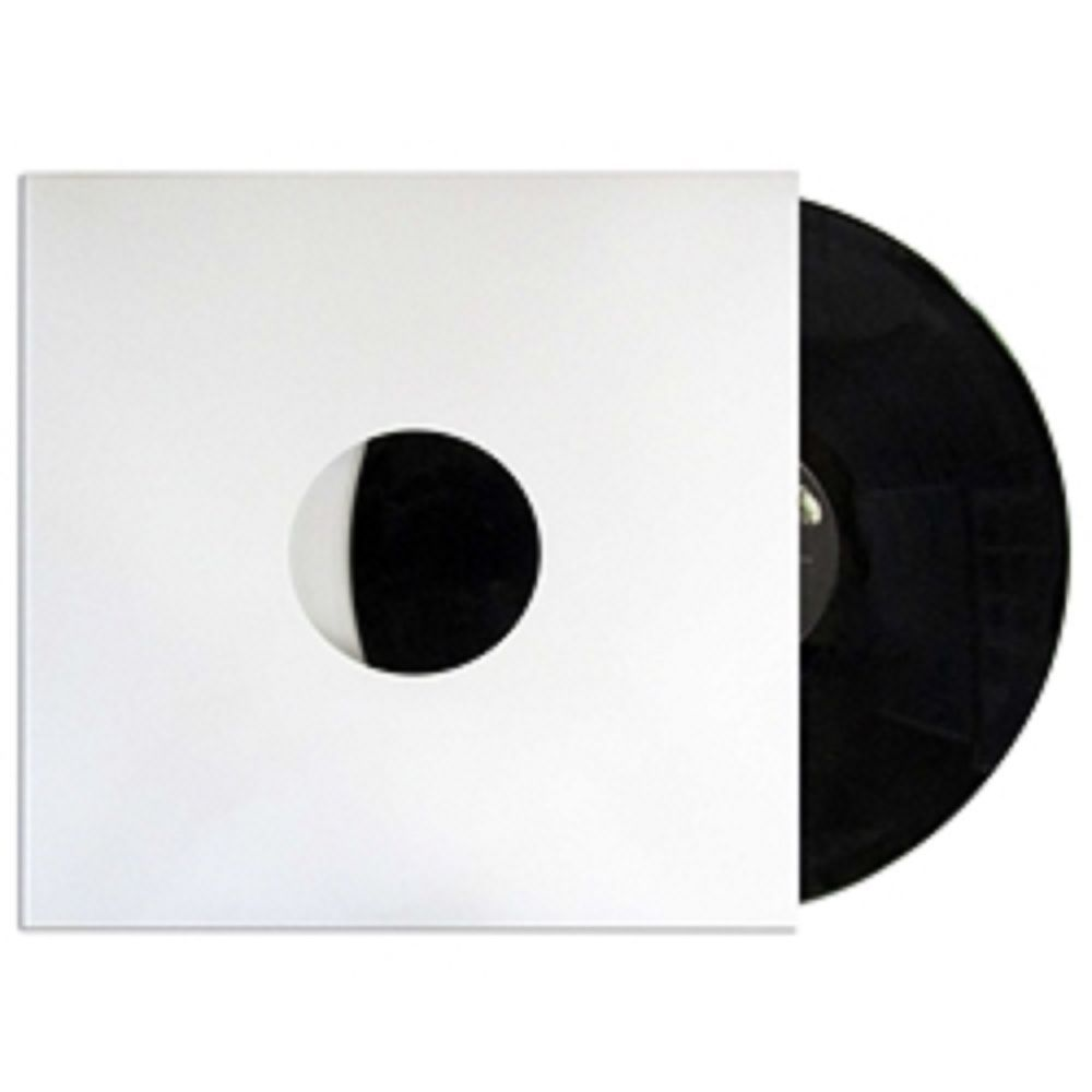 12 White Chipboard Cardboard Sleeves Jackets 100 Pack For Lps 33s Vinyl Records Na Vinyl Records Vinyl Album Storage