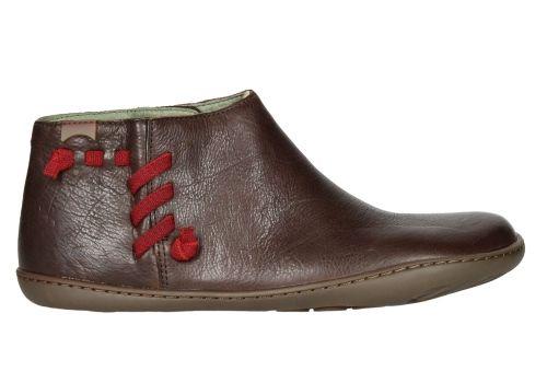 Botín elástico con laterales en piel | Zapatos Camper