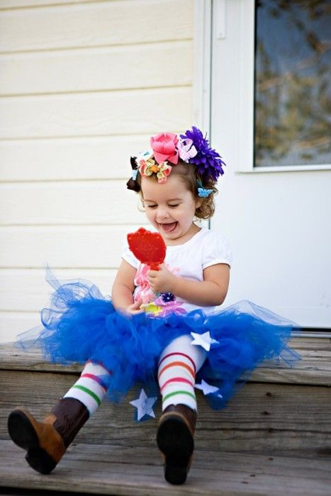 boots and tutu, with happiness