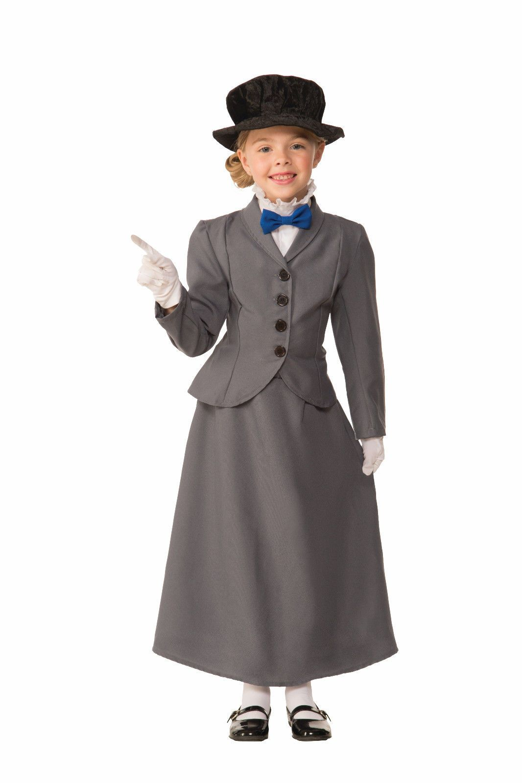 b01e18f884e37 Mary Poppins Girls Fancy Dress Disney Victorian Nanny Kids Childrens Costume  New Clothes, Shoes & Accessories ...