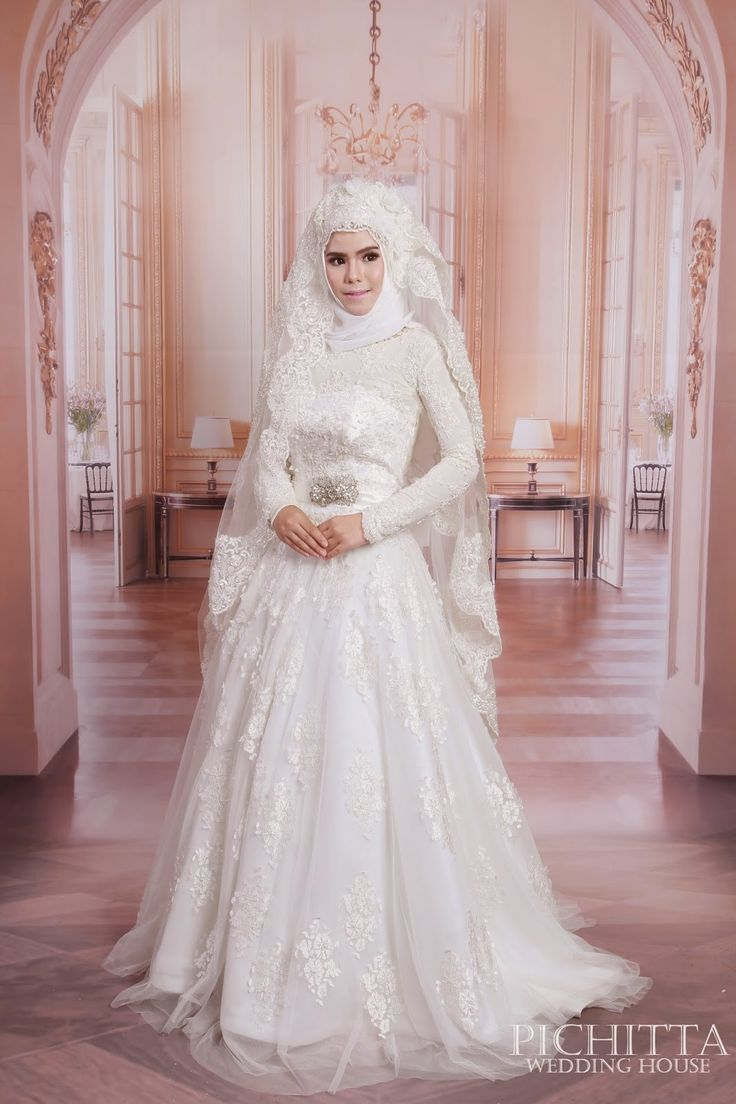 df9cc5f2d6d80 Kapalı Gelinlik Modelleri | ♥ Wedding Dress For Muslim Women ...