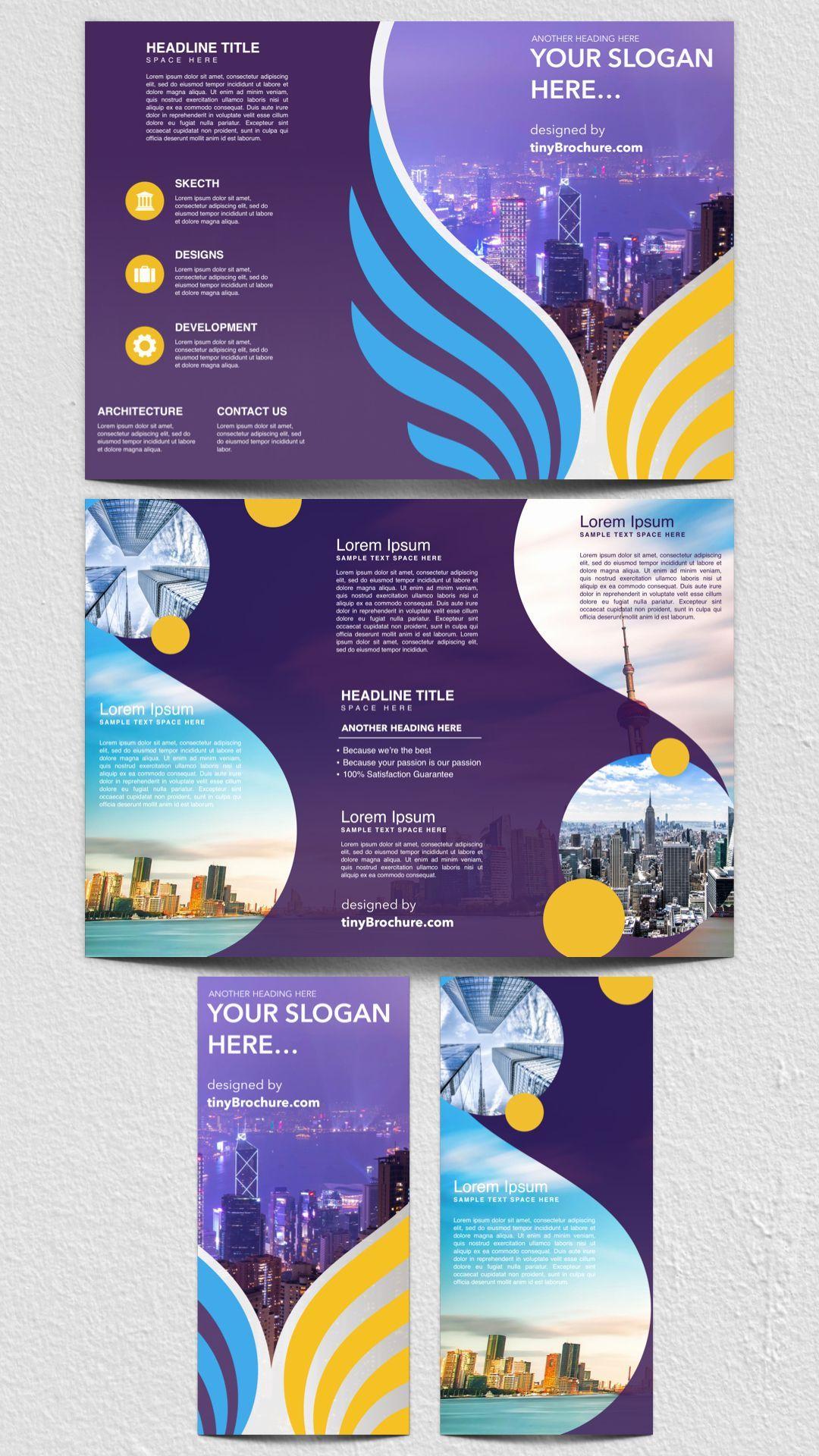 Travel Brochure Template Google Docs Best Of Tri Fold