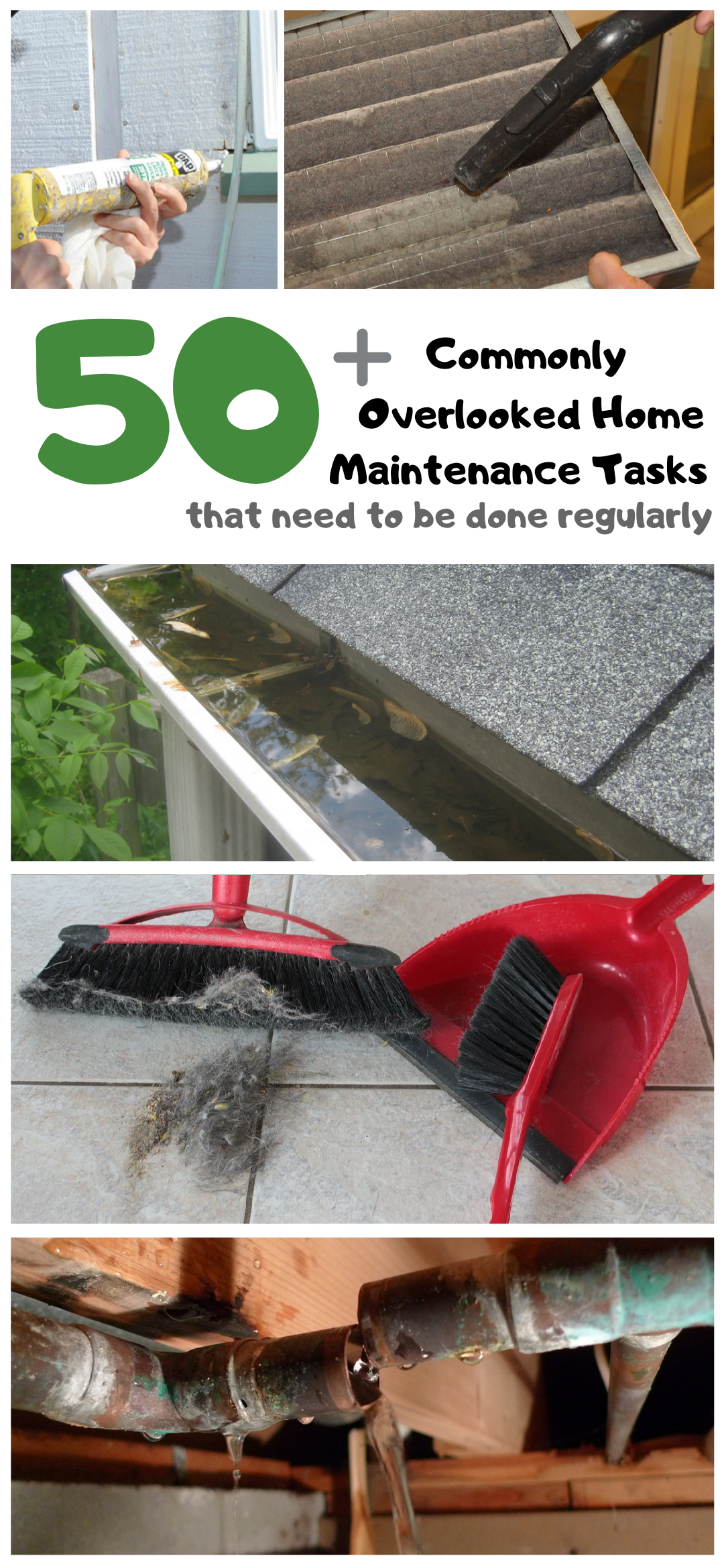 Photo of 50+ commonly overlooked home maintenance tasks that need to be done regularly