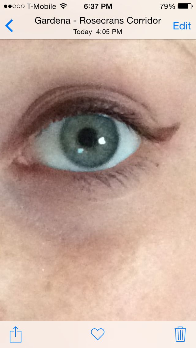 brown eyeliner for green eyes like mine