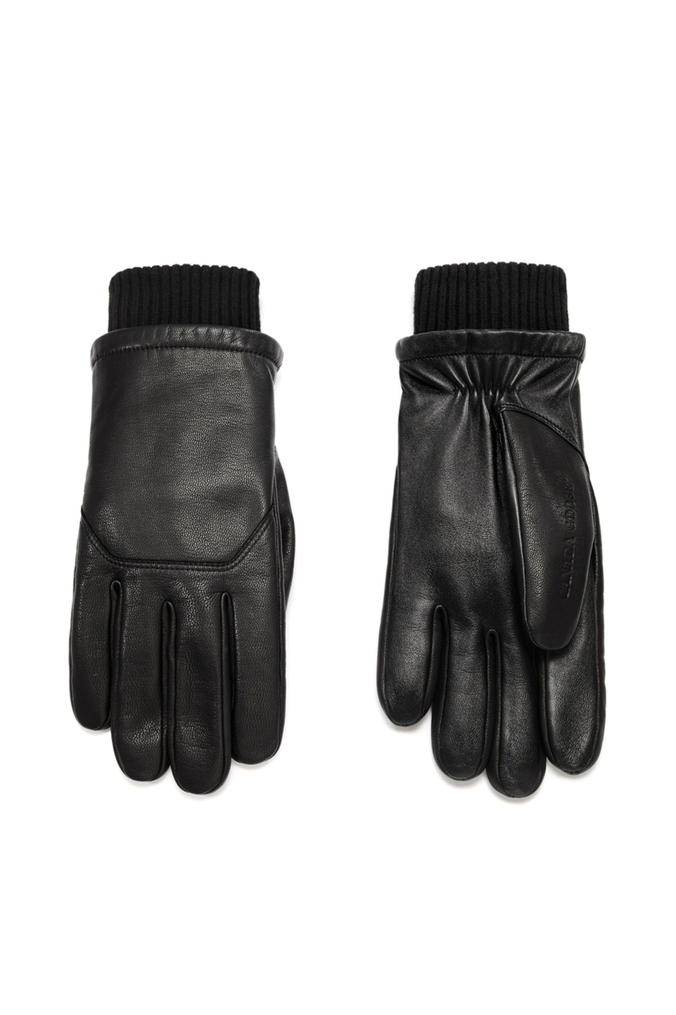 Canada Goose Men S Leather Glove Gloves Mens Gloves