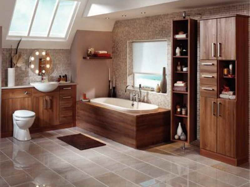 Bathroom Shelving Units With Fancy Design (800×