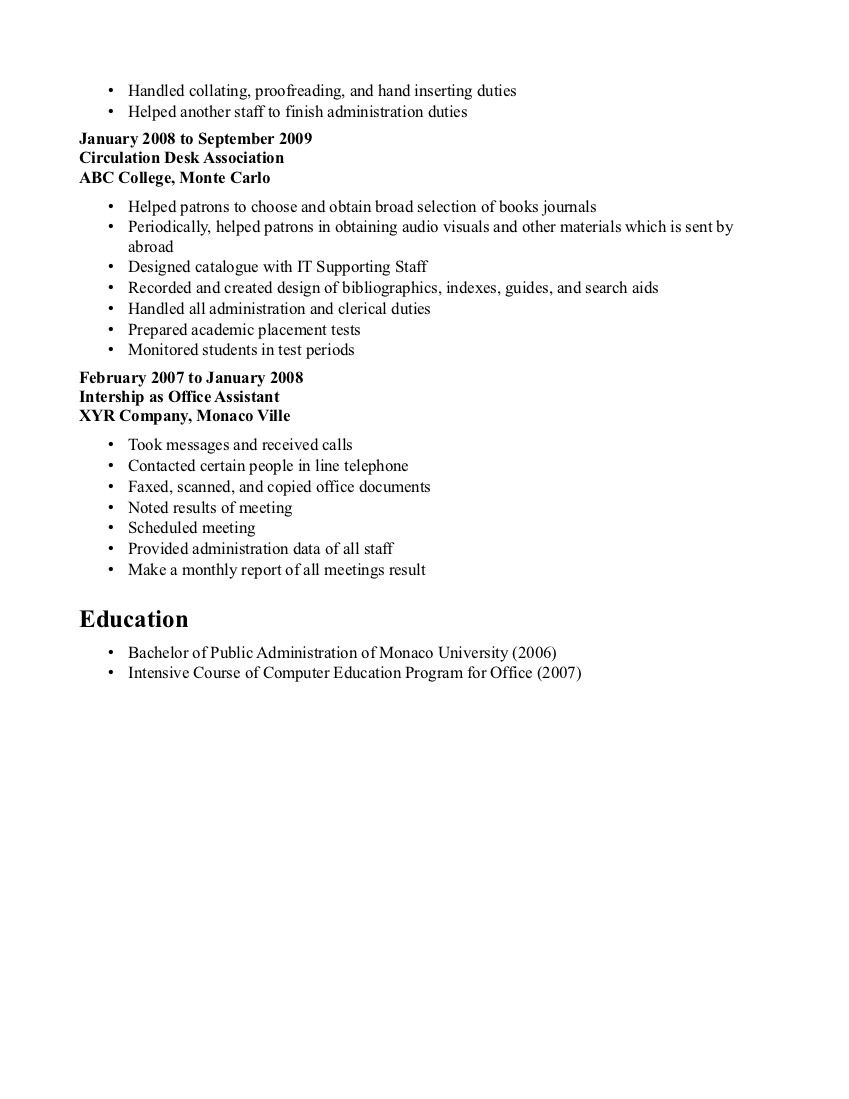 Sample Entry Level Resume Sample Resume For Entry Level Bank Teller  Httpwww