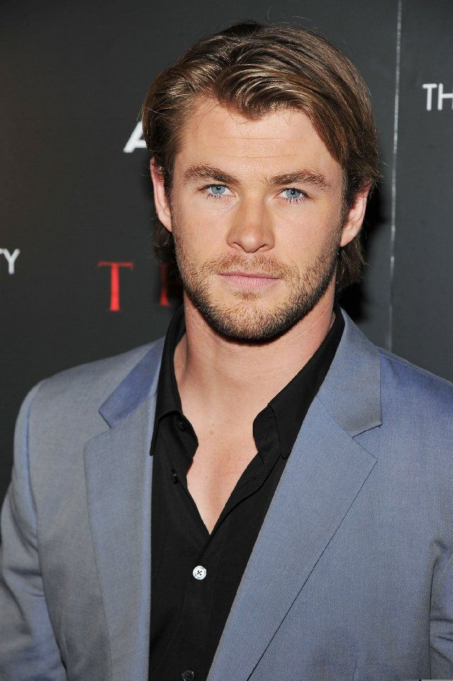 Chris Hemsworth   My new # 1! Sorry David Beckham you will have to settle for 2nd best