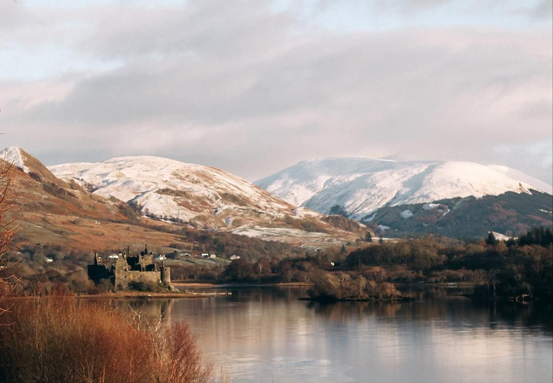 A winter afternoon at Loch Awe.