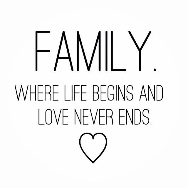 Family where life begins quotes quote sister family quote ...