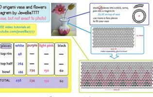 3d origami flower diagram trusted wiring diagram 3d origami flower diagram 1 origami 3d pinterest 3d origami rh pinterest com 3d origami lotus mightylinksfo