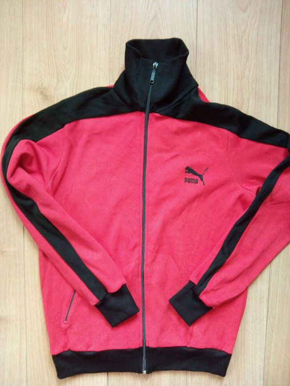 Vintage 90 los Chandal de Mens superior chaqueta Puma 80 76vIgYybf