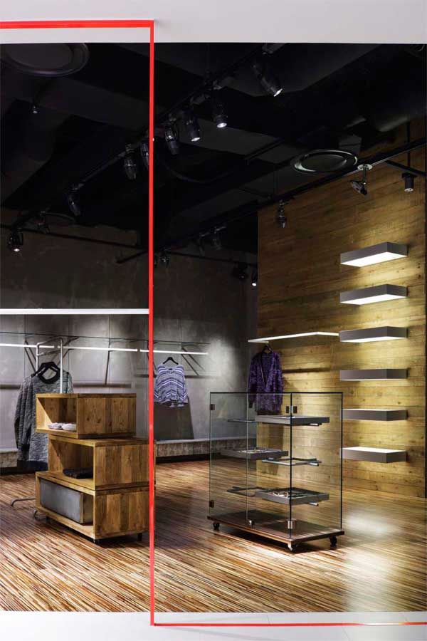 And A Yokohama Clothing Store by  MOMENT Inc