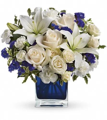 Wedding Flowers Lexington Ky: Teleflora's Sapphire Skies Bouquet In Lexington, KY