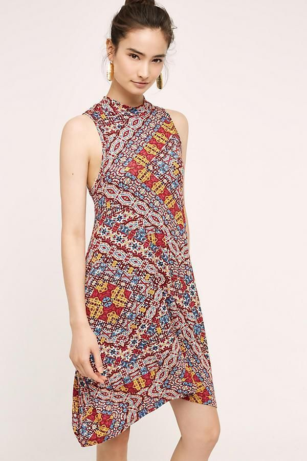 f98af43164db NEW ANTHROPOLOGIE Size L Large $118 Lilt Swing Dress Maeve Womens Red NWT  #Maeve #Swing
