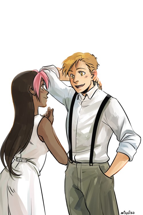 Commissioned by rose-in-bloomx :') | Fullmetal alchemist ...