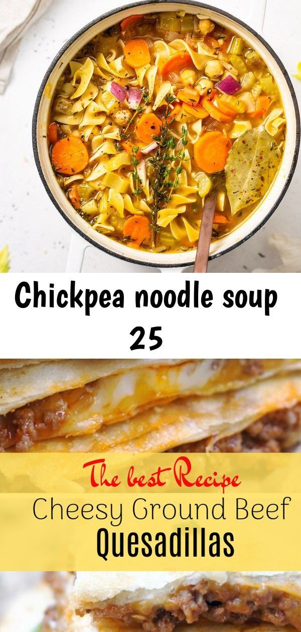 Chickpea noodle soup 25 #chickpeanoodlesoup Easy Vegetarian Chickpea Noodle Soup Recipe Easy Cheesy Ground Beef Quesadillas #Easy #Cheesy #Ground #Beef #Quesadillas Seriously, though, hubby and I enjoy quesadillas on the regular. They're super easy to whip up, you can put as little or as much as you want in 'em and they always taste amazing. #Beef #Special Hawaiian BBQ Ribs – oven baked ribs with a sweet and spicy Hawaiian-inspired sauce made with hoisin sauce, soy sauce, pineapple juice, fres #chickpeanoodlesoup