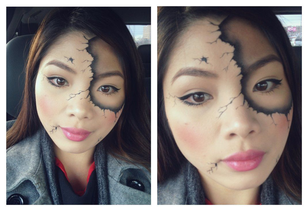 Broken Doll by jolois. Tag your pics with #Halloween and #SephoraSelfie on Sephora's Beauty Board for a chance to be featured!