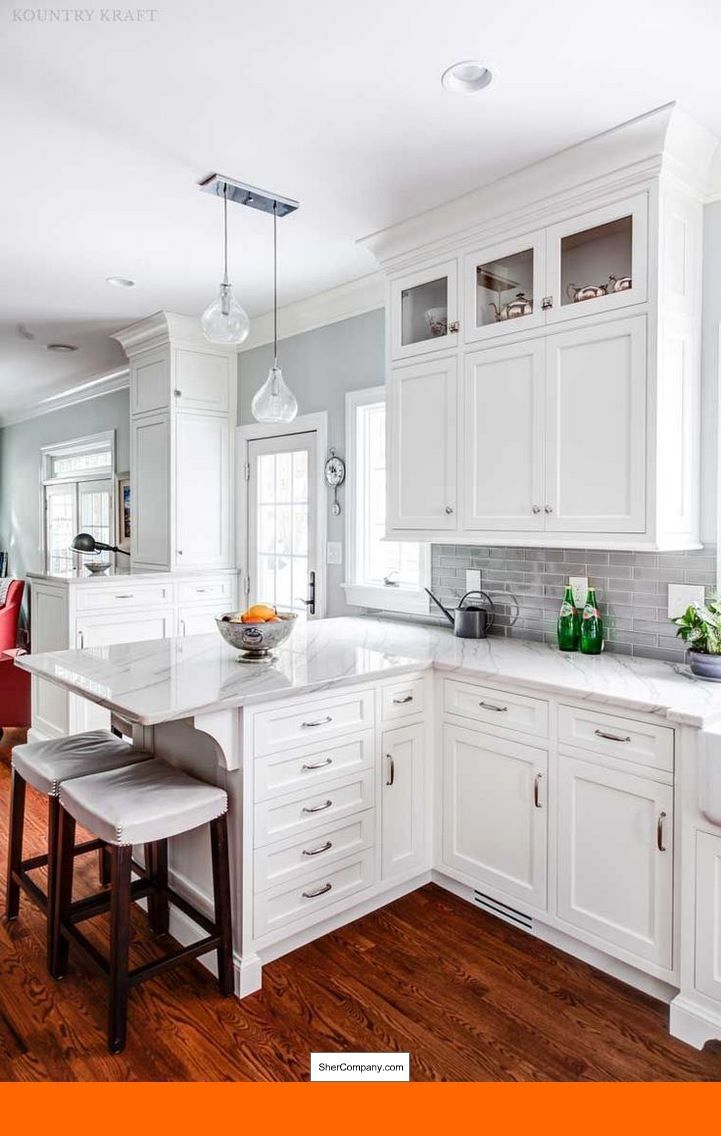 White kitchens with granite countertops and pics of antique white