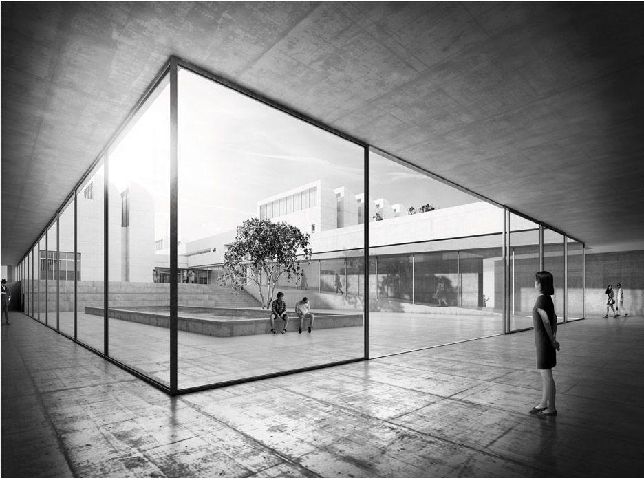 Architekten Bauhaus staab architekten chosen to extend berlin s bauhaus archiv with