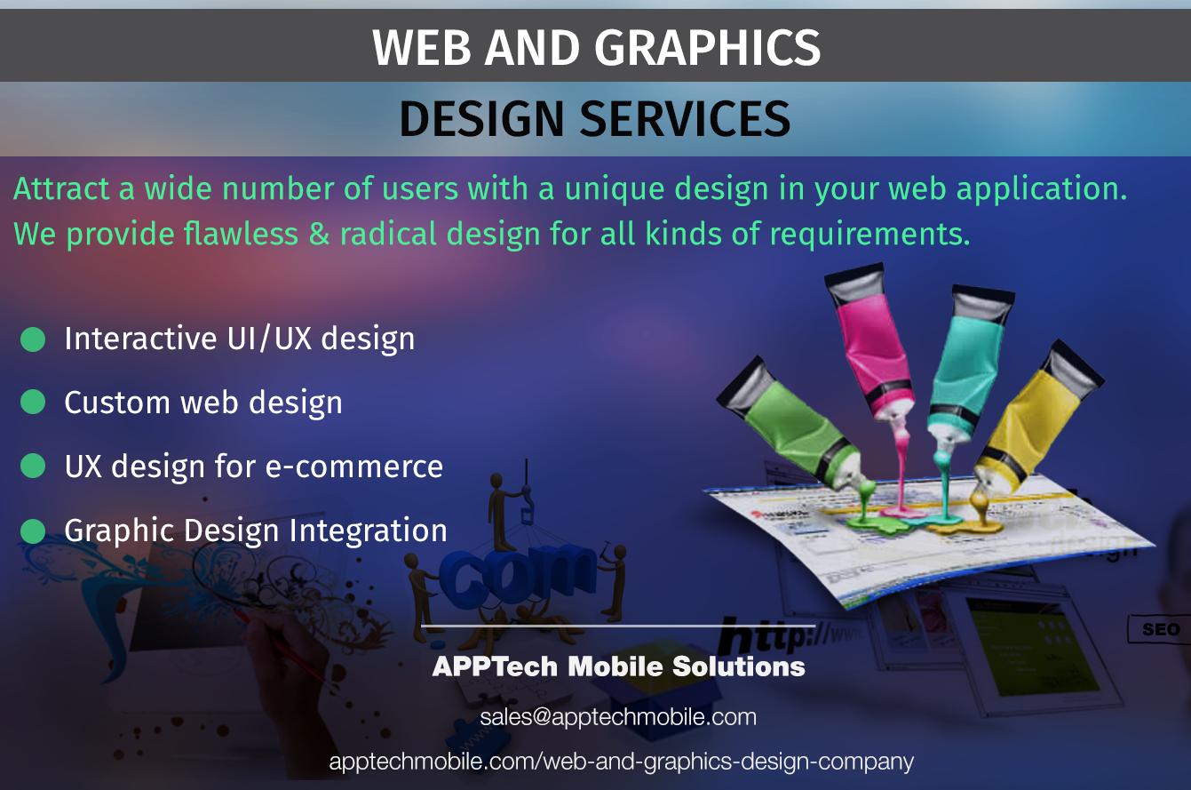 Web Design Services Apptech Mobile Solutions Web Design Service Design Web Development Design